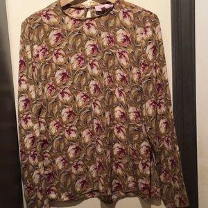 Long sleeve Philosophy floral top